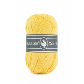 Durable Coral Katoen - 309 Light Yellow