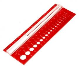 KnitPro Breinaalden meter.