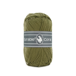 Durable Coral Katoen - 2168 Khaki