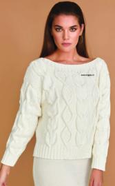 ROWAN Handknit Cotton Trui Parched