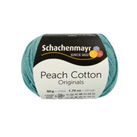 Schachenmayr - Peach Cotton 00169 Petrol Blauw