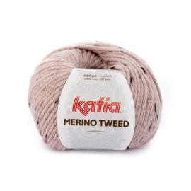 Katia Merino Tweed - 312 Licht Roze