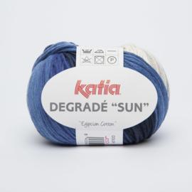 Katia Degrade Sun - 100 Ecru-Beige-Jeans-Blauw-Donker blauw
