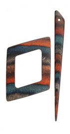 Sjaal Pin KnitPro Azure Charm  - Alpha