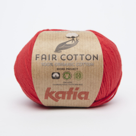 Katia Fair Cotton - 04 Rood