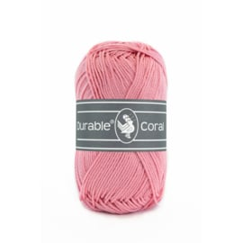 Durable Coral Katoen - 227 Antique Pink