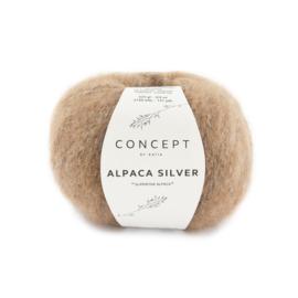 Katia Concept - Alpaca Silver - 273 Licht Bruin - Zilver