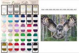 Cal 2015 Owl pakket (15 bollen Linen-Soft)