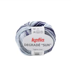 Katia Degrade Sun - 255 Blauw - Beige - Grijs