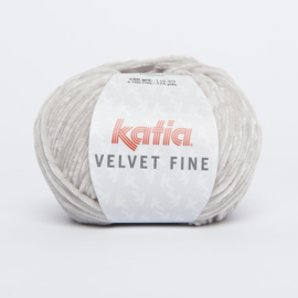Katia Velvet Fine - 208 Licht grijs