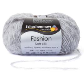 Schachenmayr Soft Mix met Baby Alpaca 00090 Mittelgrau