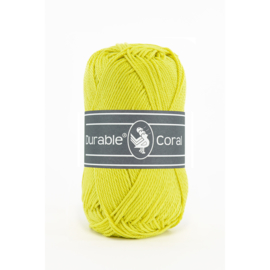 Durable Coral Katoen - 351 Light Lime