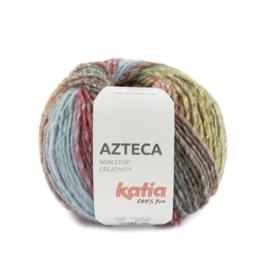 Katia Azteca 7883 Licht Geel - Rood - Groen