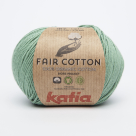 Katia Fair Cotton - 17 Mintgroen
