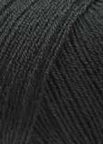 LANG Yarns Merino 400 Lace - 0004 Zwart