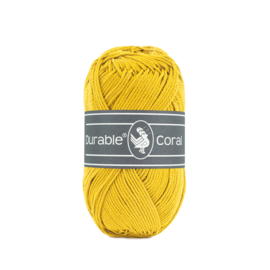 Durable Coral Katoen - 2206 Lemon Curry