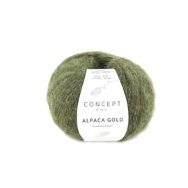 Katia Concept - Alpaca Gold 355 Donker Groen