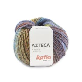 Katia Azteca 7882 Robijnrood - Loofgroen - Blauwlila