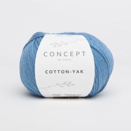 Katia Concept - Cotton-Yak - 119 Blauw