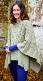 ROWAN Felted Tweed Aran Poncho Cawdor