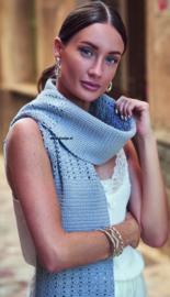 ROWAN Creative Linen gehaakte Sjaal