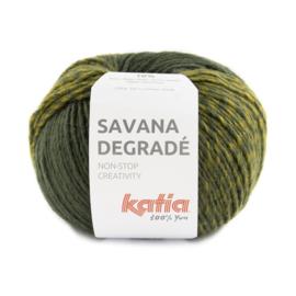Katia Savana Degrade 104 Groen - Geelgroen - Grijs