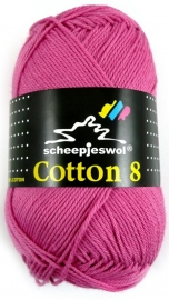 Cotton 8 - 653 Roze