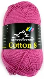 Cotton 8 - 653 Roze
