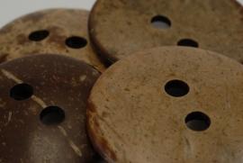 Kokos knoop 2 gaats vanaf 3 cm