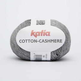 Katia Cotton Cashmere - 59 Grijs