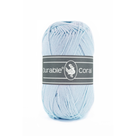 Durable Coral Katoen - 282 Light Blue