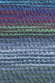 LANG Yarns Mille Colori Baby - 0033 Jeans-Groen-Aubergine