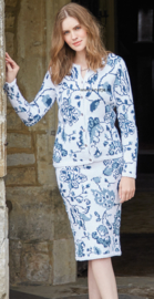 ROWAN Handknit Cotton Vest enof Rok Delft