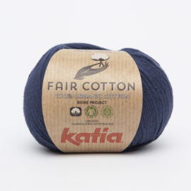 Katia Fair Cotton - 05 Donker blauw