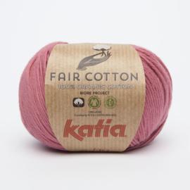 Katia Fair Cotton - 14 Framboosrood