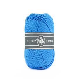 Durable Coral Katoen - 295 Ocean