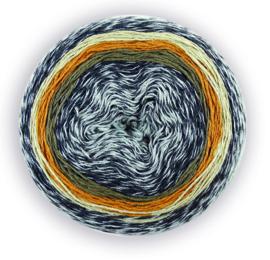 Katia Flash Rainbow - 100 Grijs-Beige