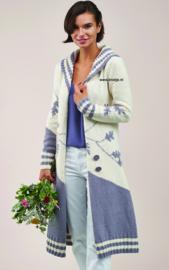 ROWAN Cotton Cashmere Lang Vest Oak Branch