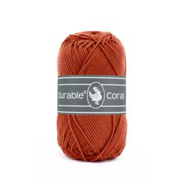 Durable Coral Katoen - 2239 Brick