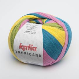 Katia Tropicana - 307 Bleekrood-Geel-Blauw-Groen