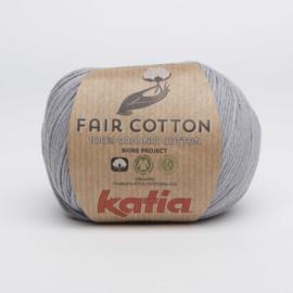 Katia Fair Cotton - 26 Medium Grijs