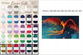 Cal 2015 Phoenix pakket (15 bollen Linen-Soft)