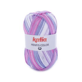 Katia Menfis Color - 101 Bleekrood - Lila