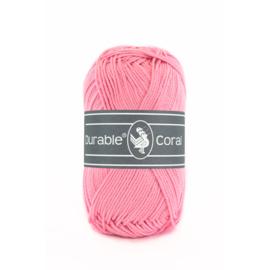 Durable Coral Katoen - 232 Pink