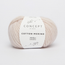 Katia Concept - Cotton-Merino 103 Zeer Licht Bleekrood