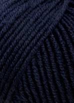 LANG Merino 120 - 0025 Heel Donker Blauw
