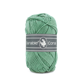 Durable Coral Katoen - 2133 Dark Mint