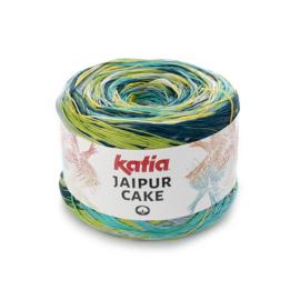 Katia Jaipur Cake - 405 Blauw - Geel - Pistache