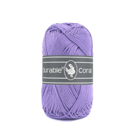 Durable Coral Katoen - 269 Light Purple