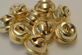 Goud kleurige belletjes - 13mm